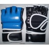 MMA Hybrid Fight Gloves in Genuine Leather for Competition. Free Shipping