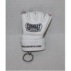 "Combat Sports Key Rings  Pro Fight Gloves, VINYL 2.5"" Long."