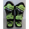 Boxing MMA Shin Instep Guards, Green/Black, Synthetic Leather, Sizes S - XL