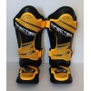 Boxing MMA Shin Instep Guards, Synthetic Leather, Sizes S-XL