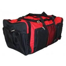 Red/Black Duffel Bag / Gym Bag / Sports Bag
