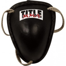 TITLE MMA STEEL CUP (GENUINE LEATHER)
