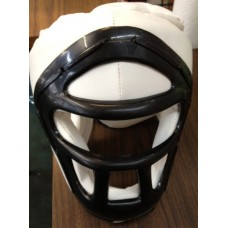 White/Black Head Gear with Face Protector